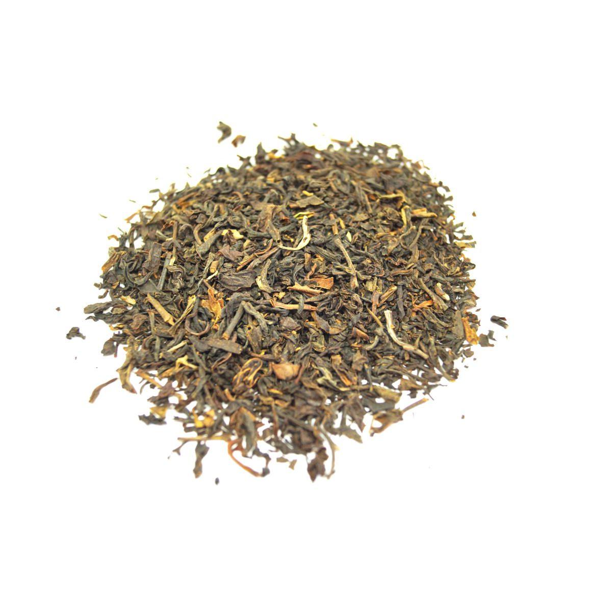 Blend of Black Teas of India combining tastes with small leaves and full bodied colour and taste Darjeeling – Makaibari FTGFOP1, Nilgiri – Thiashola - SFTGFOP1, China – Keemun, Assam – India TGFOP