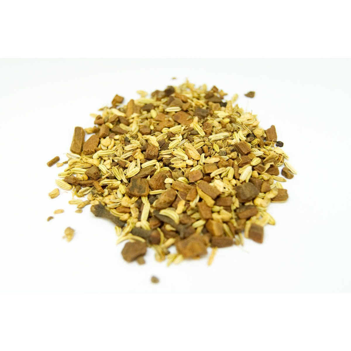 Indian Spice Chai Our best selling chai and it is caffeine free! All great chai spices giving amaing chai flavor