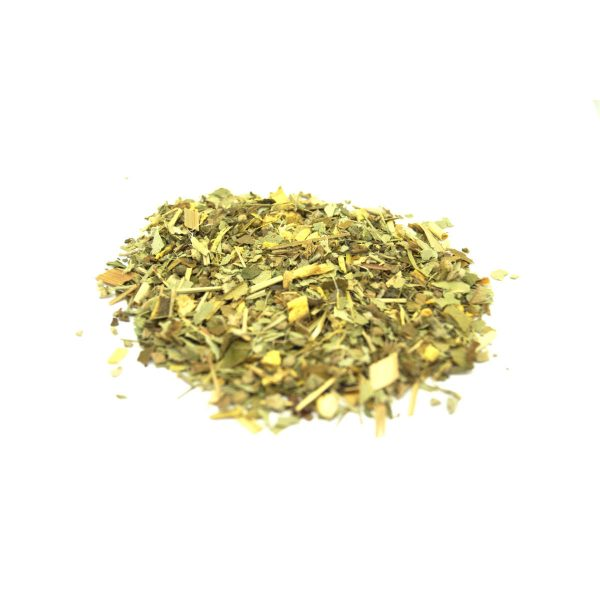Kick Ur Kold Self Help Wildcrafted Cold and Flu Relief Throat Sinus Loose Leaf Tea with Herbs of Lemon, Ginger, Orange, Lemongrass, Cinnamon, Basil and Mullein