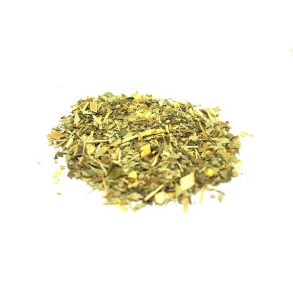 Kick Ur Kold Self Help Wildcrafted Cold and Flu Relief Throat Sinus Loose Leaf Tea with Herbs of Lemon, Ginger, Orange, Lemongrass, Cinnamon, Basil and Mullein