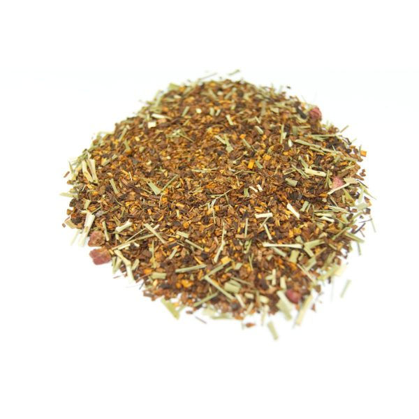 Radiant Raspberry Rooibos Tea This blend has the great rich taste and color of Freeze Dried Raspberries and Caffeine Free!