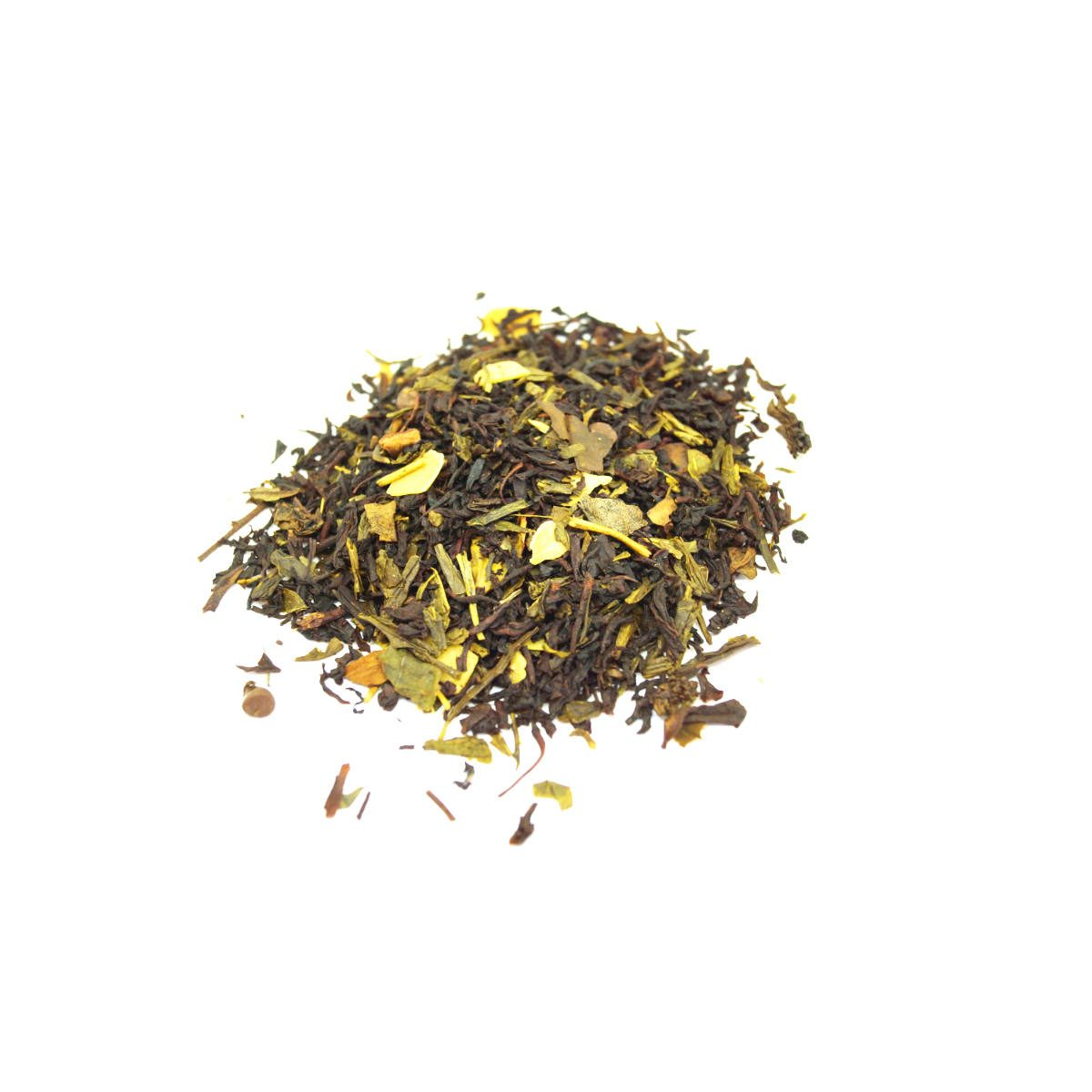 Winter Breeze is a green and black tea with Almonds, Amaretto Chips and Almond Essential Oil makes this a great dessert in a cup.