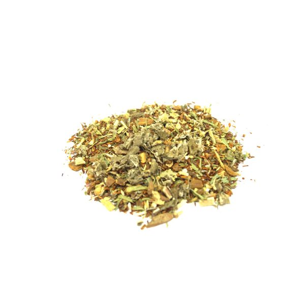 This combination of herbs helps the during the third trimester of pregnancy - helping the body start to prepare for the final delivery of the bundle of joy.  This tea is to only be used during the last three months of pregnancy.