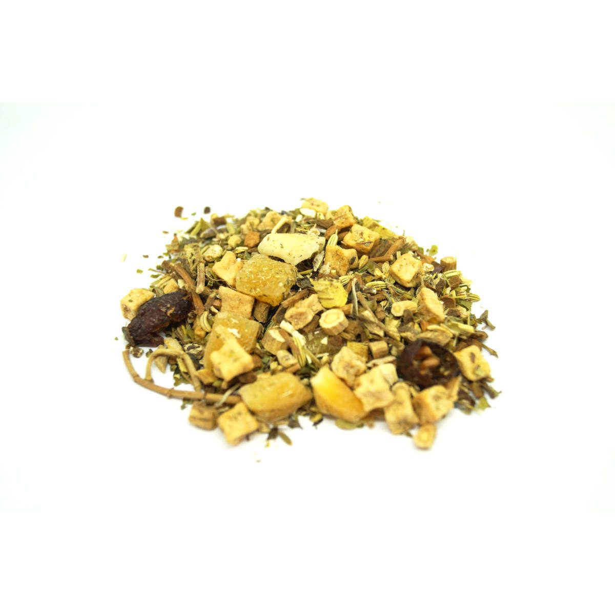 Wellness Self Help Tea is a complete package giving you many adaptogens herbs in a single blend to keep you well and healthy including a few detox herbs.