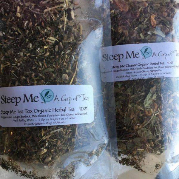 Steep Me Cleanse Organic Herbal Tea