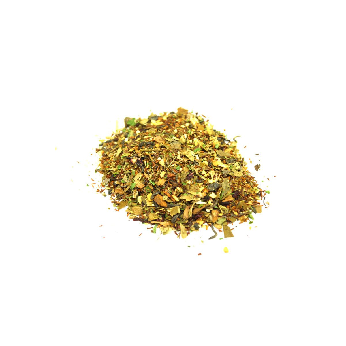 Healthy Heart Green Tea Steep Me Heart Health Blend made with Chinese Green Tea and Caffeine Free African Rooibos combined to maintain a healthy ticker.