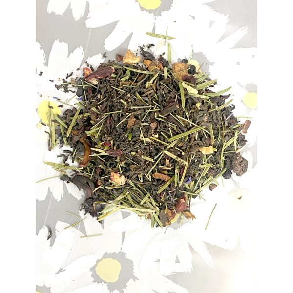 Black Tea, Pine Needles, Dried Fruit