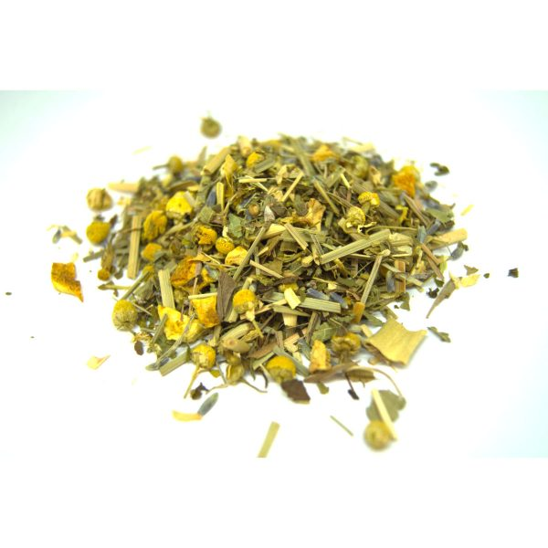 Starry Nite Tisane Tea with Chamomile, Lavender, Orange Peel, Lemon Peel and Lemongrass