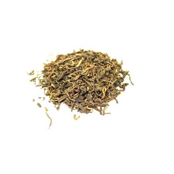 Plain Loose Pu-erh Tea Organic and Wildcrafted Dark Tea from Yunnan Province in China aged by Microbial Fermentation. This is a premium loose puerh.