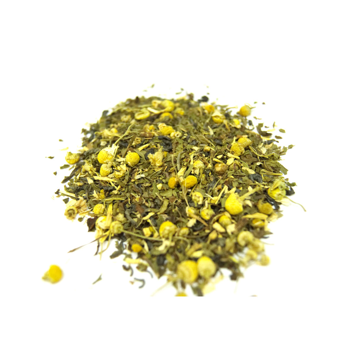 Great combo of Green tea and Chamomile!