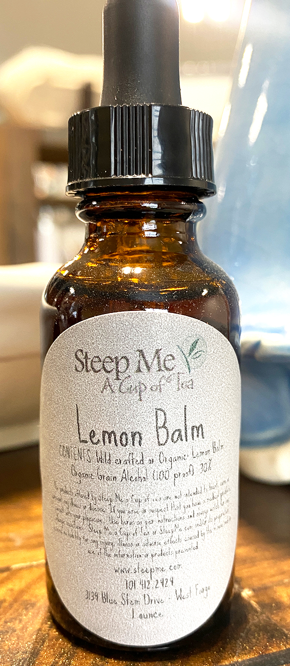 Lemon Balm Tincture has been blended into a tincture helps getting you back to sleep or help bring on the sleep process.